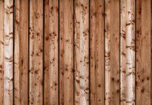 Der Holzzaun - optisch an das Haus angepasst